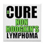 Cure Non-Hodgkin's Tile Coaster