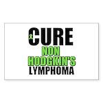 Cure Non-Hodgkin's Rectangle Sticker 10 pk)