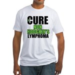 Cure Non-Hodgkin's Fitted T-Shirt