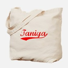 Vintage Taniya (Red) Tote Bag