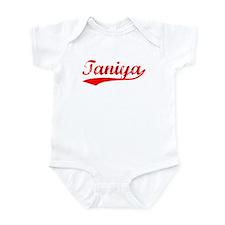 Vintage Taniya (Red) Infant Bodysuit