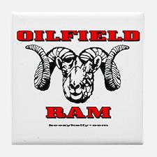 Oilfield Ram Tile Coaster