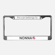 Nonna License Plate Frame