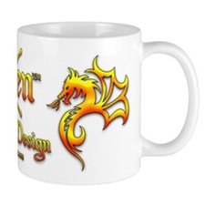 Xen Tattoo Design Small Mug