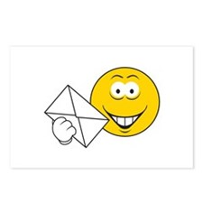 Postal Smiley Face Postcards (Package of 8)