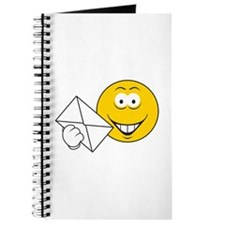 Postal Smiley Face Journal