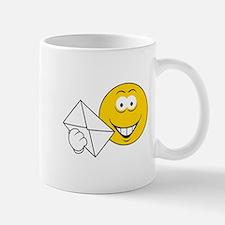 Postal Smiley Face Mug
