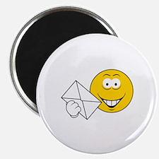 Postal Smiley Face Magnet
