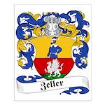 Zeller Family Crest Small Poster