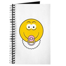 Cute Baby Smiley Face Journal