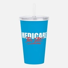 Medicare For All Acrylic Double-wall Tumbler