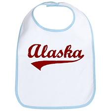 Alaska - Red Retro Bib