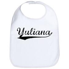 Vintage Yuliana (Black) Bib