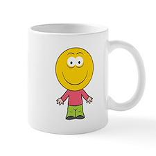 Boy Smiley Face Mug