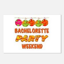 Tropical Bachelorette Wee Postcards (Package of 8)