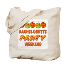 Tropical Bachelorette Weekend Tote Bag