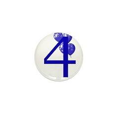 4 Mini Button (10 pack)
