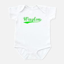 Vintage Waylon (Green) Infant Bodysuit