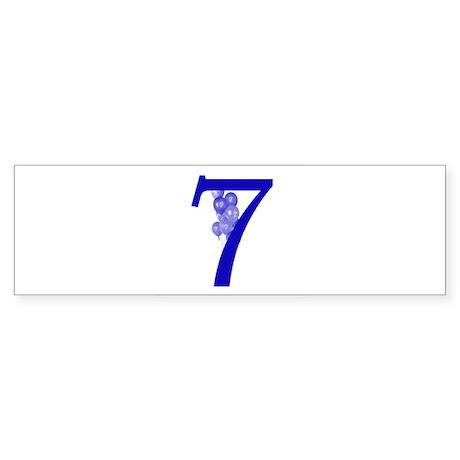 7 Bumper Sticker