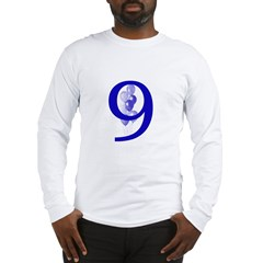 9 Long Sleeve T-Shirt