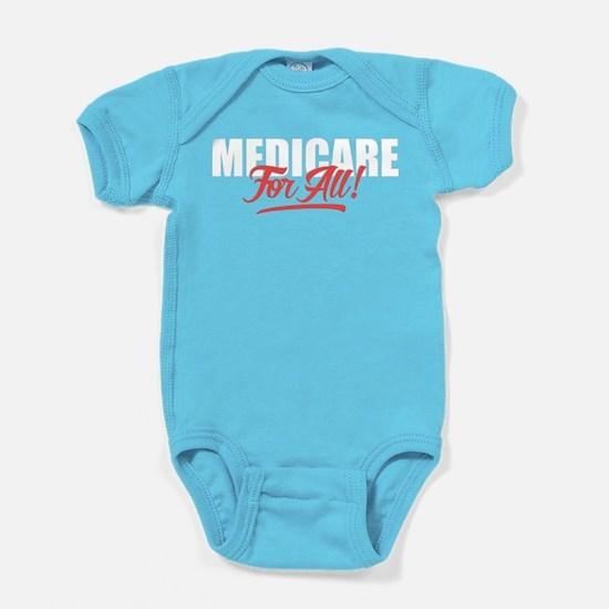 Medicare For All Baby Bodysuit
