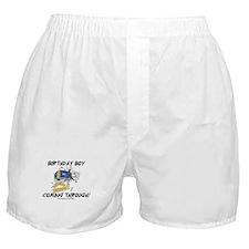 Birthday Boy Coming Through Boxer Shorts
