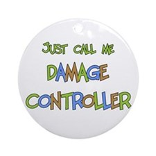 Damage Controller Ornament (Round)