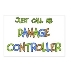 Damage Controller Postcards (Package of 8)