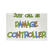 Damage Controller Rectangle Magnet