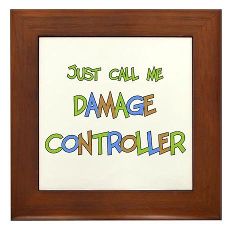 Damage Controller Framed Tile