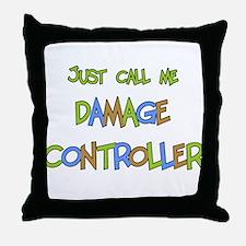 Damage Controller Throw Pillow