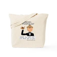 Anarcho Poopalist Tote Bag
