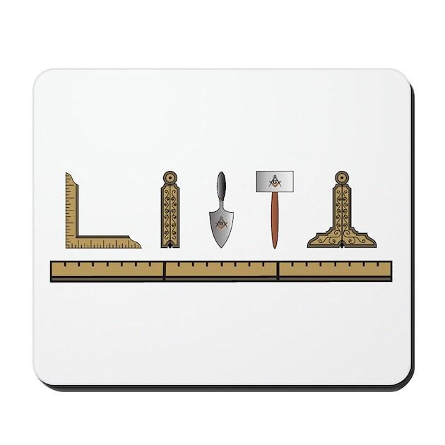 Masonic Working Tools No. 4 Mousepad By Bytheplumb