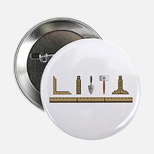 "Masonic Working Tools No. 4 2.25"" Button"