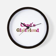 Chad's Girlfriend Wall Clock