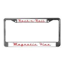 Rock-n-Roll License Plate Frame