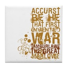 Tamburlaine Tile Coaster