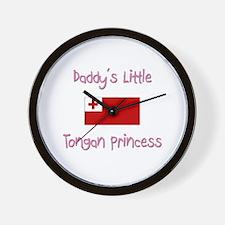Daddy's little Tongan Princess Wall Clock
