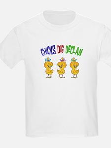 Chicks Dig Declan T-Shirt
