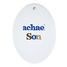 Rachael's Son Oval Ornament