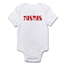 Justus Faded (Red) Infant Bodysuit