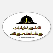Oman Oilfield Service Oval Decal