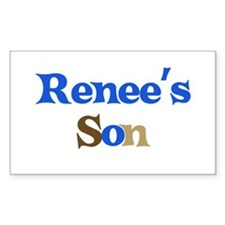 Renee's Son Rectangle Decal