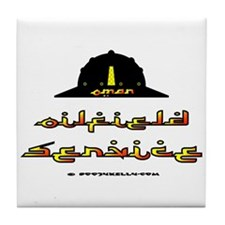 Oman Oilfield Service Tile Coaster