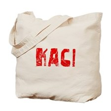 Kaci Faded (Red) Tote Bag