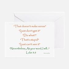 Don't Make Sense Greeting Cards (Pk of