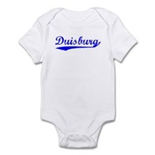 Vintage Duisburg (Blue) Infant Bodysuit