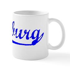 Vintage Duisburg (Blue) Mug
