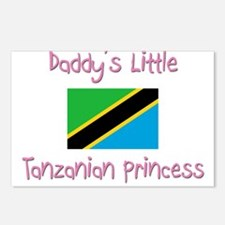 Daddy's little Tanzanian Princess Postcards (Packa