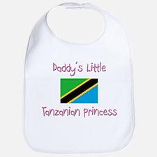 Daddy's little Tanzanian Princess Bib
